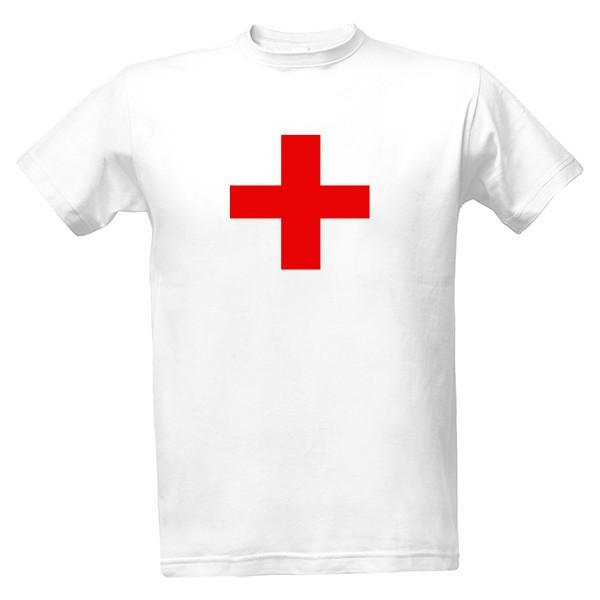 2b01f01eb0e6 Tričko s potlačou Červený kříž